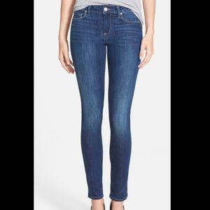 Paige Skyline Mid Rise Skinny Raya Wash Jeans #520